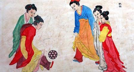 """Cuju: """"patear la pelota"""", el origen del fútbol en China"""
