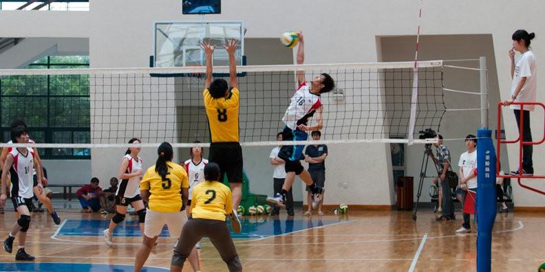 La vida deportiva de las universidades en China