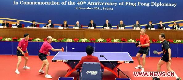 La diplomacia del Pingpong – 中美乒乓外交