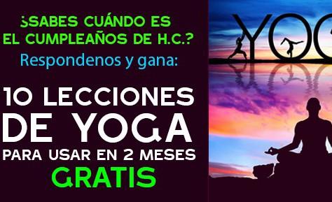 10 lecciones de yoga ¡GRATIS!