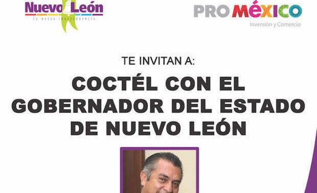 Gobernador de Nuevo León, México en Shanghái – 墨西哥在上海