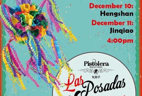 Posadas en PISTOLERA, 10 y 11 de diciembre – Posadas在Pistolera, 12月10-11日