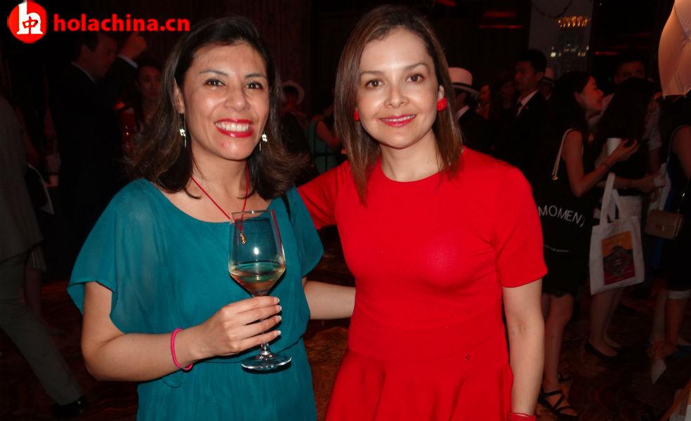 Sra. Paola Valverde y Sra. Karina Morales, Cónsul General del Ecuador en Shanghái